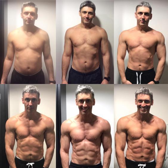 să piardă în greutate după 40 de ani)