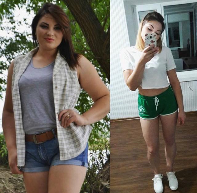 pierde 55 de kilograme de grăsime