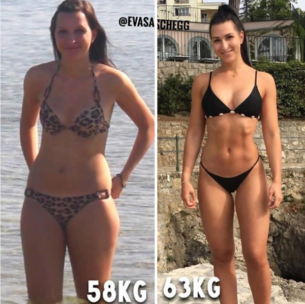 bikini după pierderea în greutate