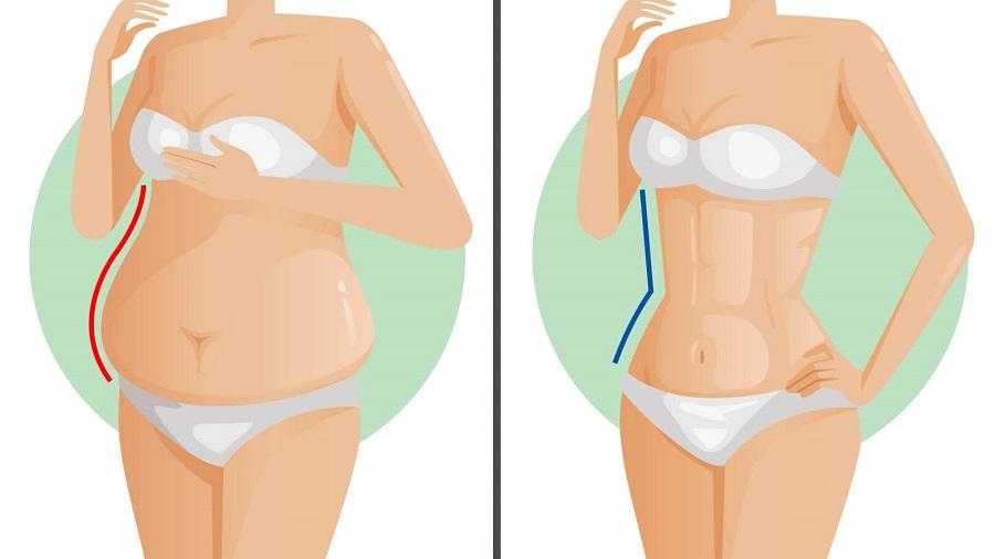 cum să pierzi grăsimea din burtă ușor Pierdere în greutate de 20 de kilograme în 5 săptămâni