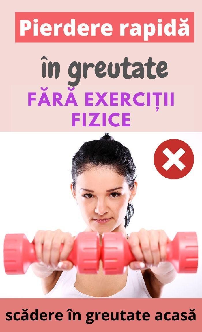 puteți pierde în greutate numai cu greutăți remedii de slabit