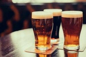 pierderea în greutate bere sau băuturi alcoolice)