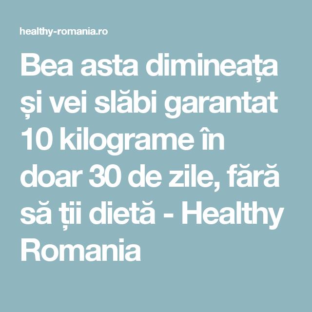 pierde greutatea în 9 zile)
