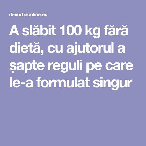 pierderea în greutate fără scară