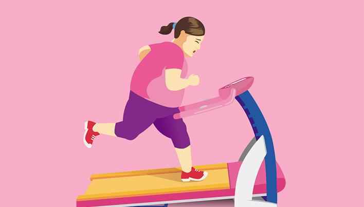 semnează timpul să piardă în greutate