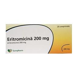 pierderea în greutate eritromicină