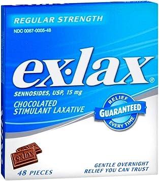 ex lax te face să slăbești scădere în greutate mestecat și scuipat