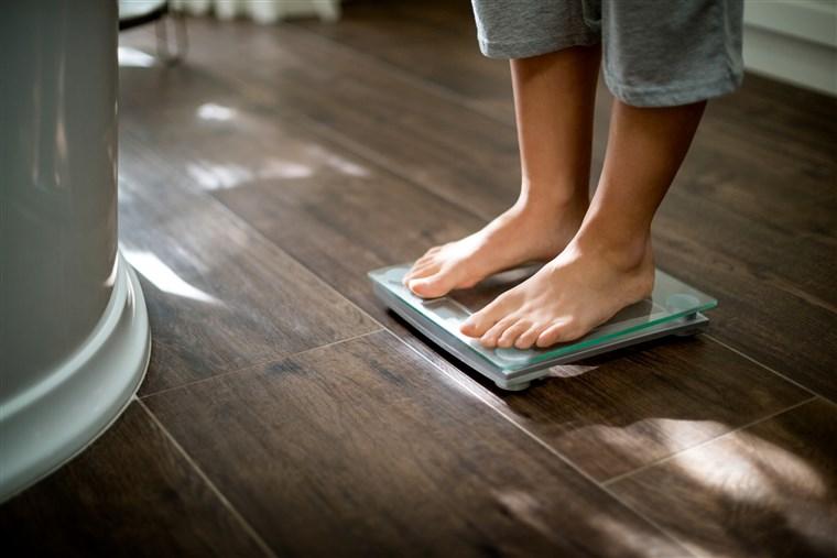 intervalul de pierdere în greutate