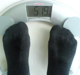 scăderea în greutate a scării jacob