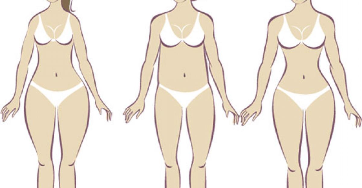 slăbește în funcție de forma corpului tău