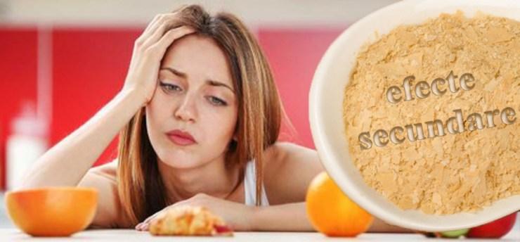 pierderea în greutate a drojdiei