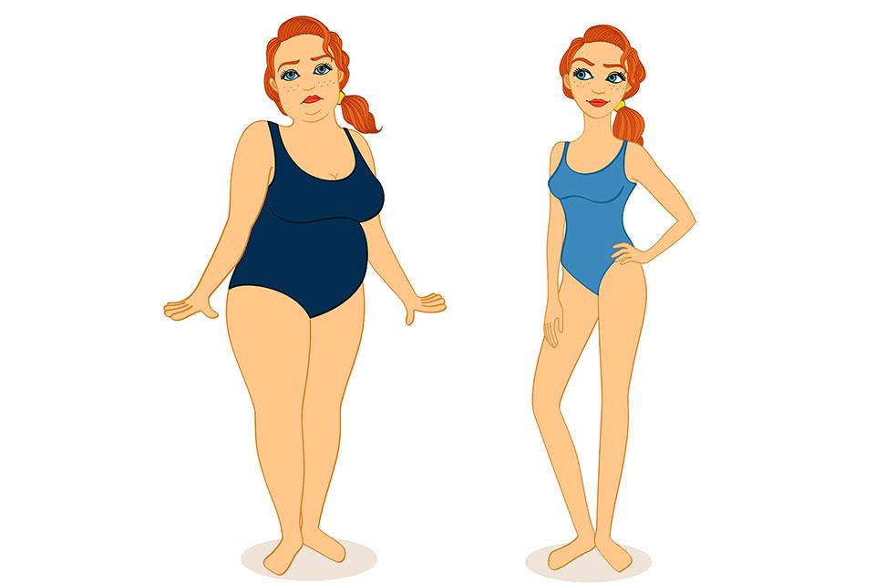 este posibilă pierderea în greutate în 8 săptămâni