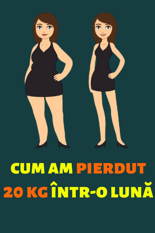 10 kg pierdere în greutate 1 lună