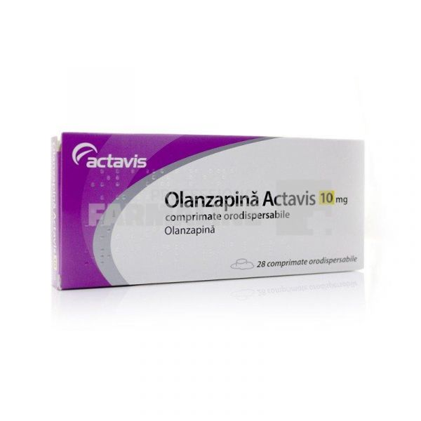 Prospect Olanzapina Actavis 5 mg x 28 compr. orodisp. | Catena