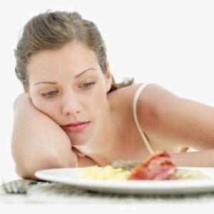 pierderea în greutate, dar nici o pierdere a poftei de mâncare